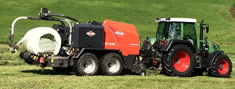 Kuhn FBP 2135 OC 14 Press-/Wickelkombination